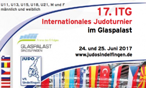 17. Internationales Judoturnier im Glaspalast