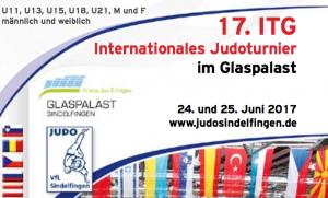 17. Internationales Judoturnier im Glaspalast
